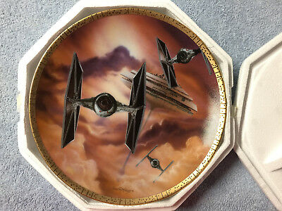 Star Wars Hamilton Collection Plate TIE Fighters
