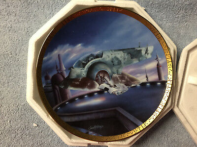 Star Wars Hamilton Collection Plate The Slave I
