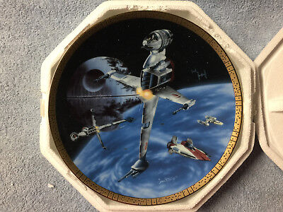 Star Wars Hamilton Collection Plate B-Wing Fighter