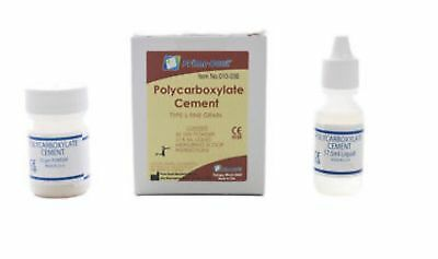 Chemical Cure Kit Luting Cement for Crown & Bridge Etc - Dental Polycarboxylate
