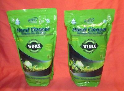 Lot Of 2 Bags = Worx Hand Cleaner = 4.5 Lb. Bag = Biodegradable Premium Quality