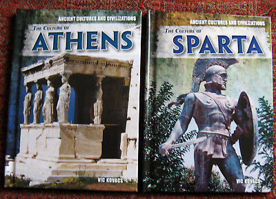 Lot of 2:  Ancient Cultures and Civilizations, Part of the series from: Rosen Pu