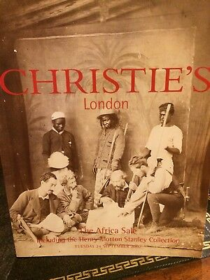 2  Christie's Auction Catalogs Of The African Collection of Henry Morton Stanley