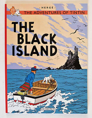 The Black Island (The Adventures of Tintin) by Herge, Paperback, Egmont.