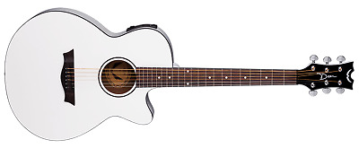 DEAN Axcess Performer Cutaway acoustic electric GUITAR new Classic White