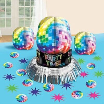 DISCO FEVER LETS BOOGIE SCENE SETTER 70/'S PARTY WALL DECORATION PROP DISCO BALLS