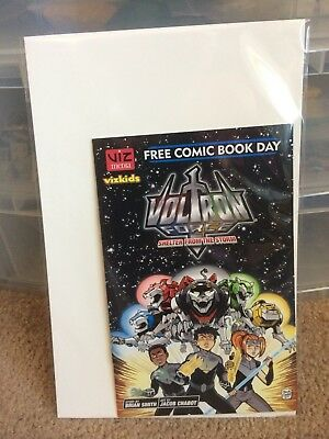 Voltron Force Free Comic Book Day Undersized Vf/nm Viz Media Vizkids Fcbd