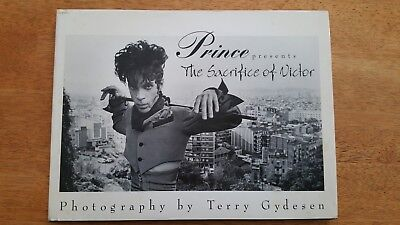 Prince - The Sacrifice of Victor Book by Terry Gydesen - Rare Out of Print
