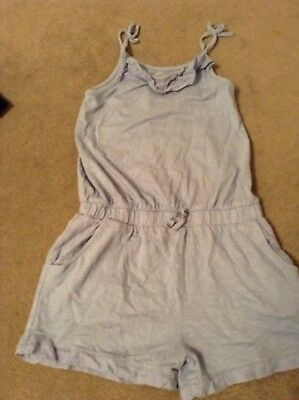 NEXT girls shorts jumpsuit aged 10 years