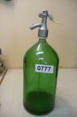 0777. Alte Sodaflasche  Siphonflasche 2 l Old soda siphon seltzer
