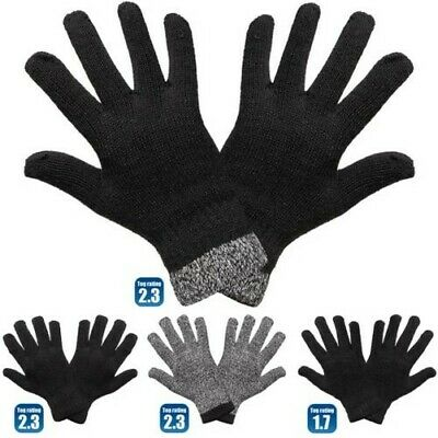 Mens Thermal Warm Heat Insulator Glove Stretch Knitted Winter 1 Pair Of Gloves