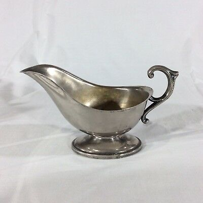 Silverplate Gravy Boat