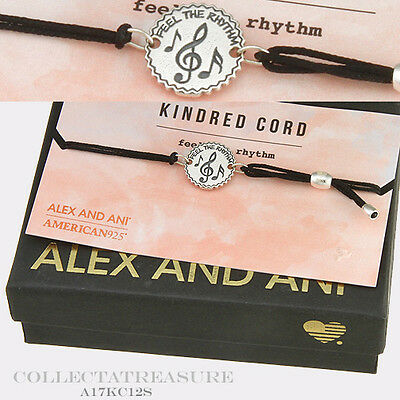 Authentic Alex and Ani Feel The Rhythm Sterling Silver Kindred Bracelet