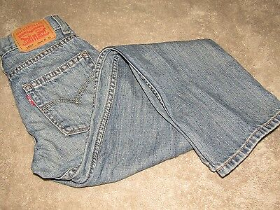 Levi's 550 Relaxed 10 Slim Youth 23x25