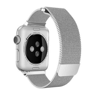 Magnetic Milanese Loop Stainless Steel Band iWatch Strap for Apple Watch 4 3 2 1