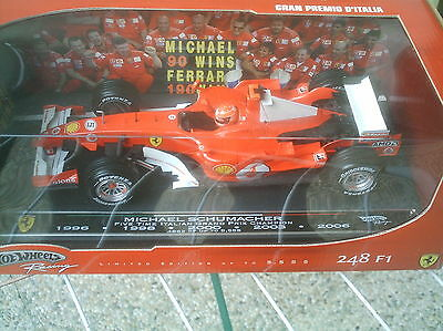 Formel1   Ferrari  Five Time Italian Grand Prix Schumacher