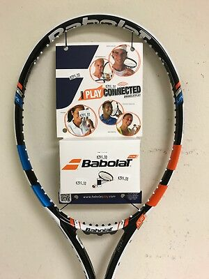 """Babolat Play Connected Pure Drive Lite Tennis Racquet Grip Size 4 1/8"""""""