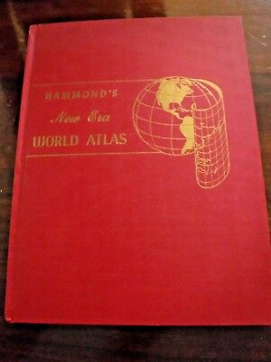1952 Hammond's New Era World Atlas