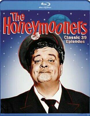 The Honeymooners: Classic 39 Episodes Complete Series (Blu Ray) NEW Sealed