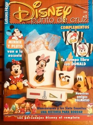 Cross Stitch Magazine Disney N 1