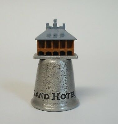 Thimble Opryland Hotel Tennessee Souvenir Pewter Metal Sewing Collectible Wapw