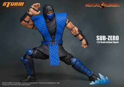 Storm Collectibles Mortal Kombat Sub Zero 1:12 Scale Action Figure NEW NIB USA