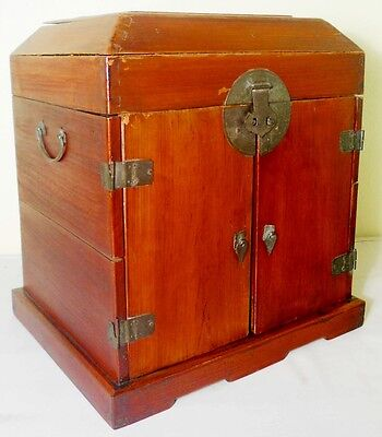 Antique Chinese Ming Official Stationery Chest (2713), Circa 1800-1849