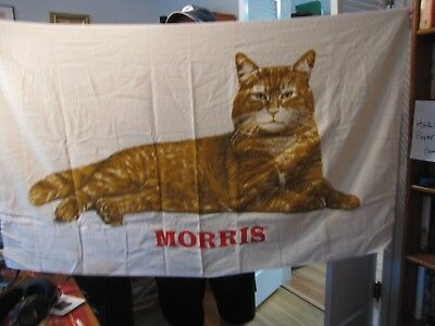 Vintage Morris the Cat Bath Towels