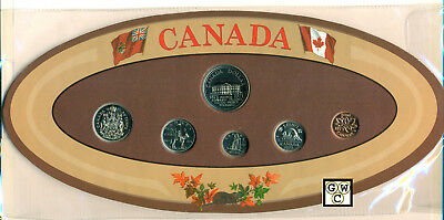 Canada 1973 Proof- Like Mint Set of 6 Coins  (OOAK)