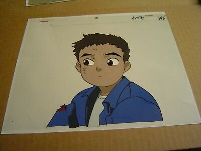 Now & Then Here & There Anime Production Cel Shu AIC stamp japan