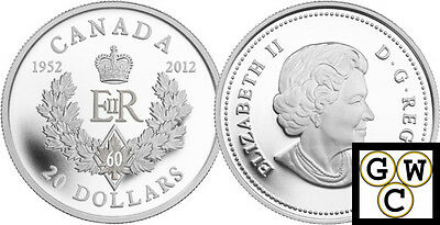 2012 'Royal Cypher' $20 Silver Coin .9999 Fine (12896) (NT) (OOAK)