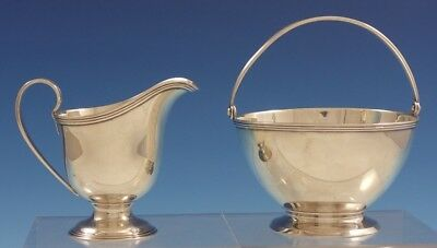 Hamilton by Tiffany and Co Sterling Silver Sugar and Creamer Set 2pc (#3047)
