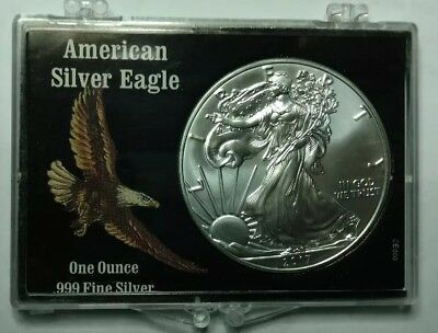 2017 American Silver Eagle BU 1 oz Coin US $1 Dollar Uncirculated Brilliant Mint