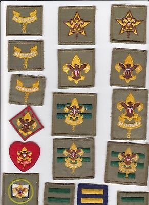 BSA Vintage Boy Scout Insignia Patch Lot