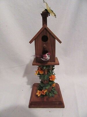 Charming Decorative Wooden Bird House, Cute, LOOK!!  Home Decor, Great Gift!!!