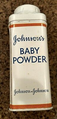 Vintage Johnson's Baby Powder Tin 4 1/8oz.