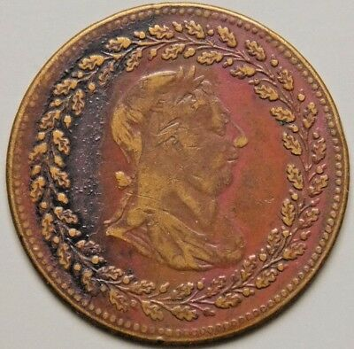 """1812 LC-48B1 Lower Canada Canadian """" Tiffin """" Token"""