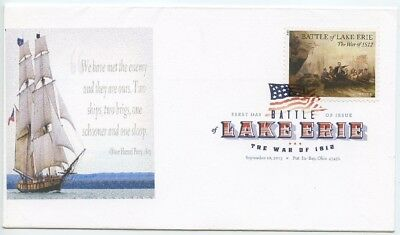 2013 Fdc, Battle Of Lake Erie