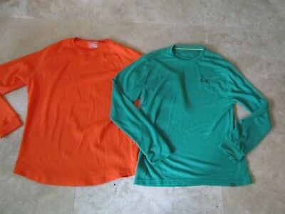 Lot, 2 mens size L,large Under Armour thermal tops, shirts