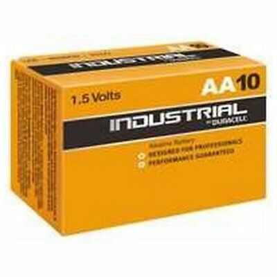 Piles Alcalines DURACELL Industrial DURINDLR6C10 LR6 AA 1.5V (10 pcs)