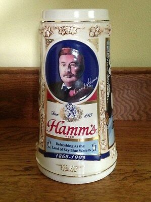 1993 Limited Edition Hamm's Beer Stein - Frederick Hamms & Bear