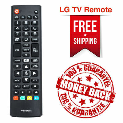 New AKB74915305 Remote Control for LG TV's 43UH6030 43UH6100 43UH6500 49UH6030