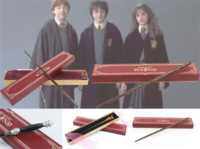 Harry Potter Wand Christmas Gifts Hermione Luna Cosplay Magic Prop Red Gift Box