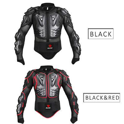 SULAITE Professional Motorcycle Jacket Motocross Full Body Armor Protection Gear