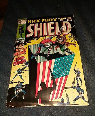 Nick Fury Agent Of S.H.I.E.L.D. #13, 1968 vg SHIELD Jim Steranko art Marvel lot