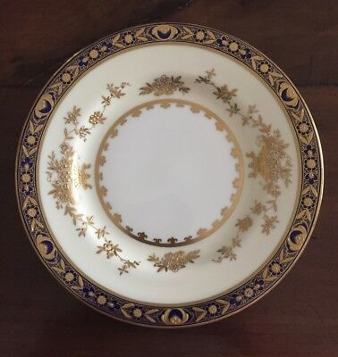 Porcelain Salad Plate Chinese Garden Blue by Emerald