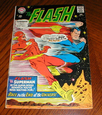 DC Comics Flash #175 2nd Superman / Flash Race! Race to the End of the Universe!