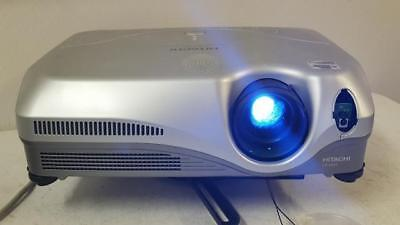 Hitachi CP-X443 LCD Multimedia Overhead Projector LOW 8 Lamp Hours with Mount
