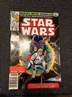 Marvel Movie Showcase #1 Star Wars /November 1982 Excellent Condition Comic Book