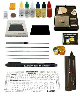 Gold Acid Testing Kit Electronic Diamond Tester Gram oz Digital Test 14K  Silver